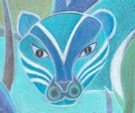 Blue Tiger small icon