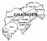 grainger co tn map